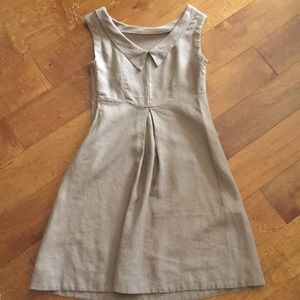 Benetton pure linen dress